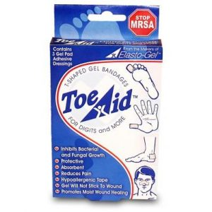 ELASTO-GEL WOUND DRESSING WITH TAPE TOE-AID