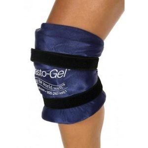 Elasto-Gel Hot/Cold Therapy Knee Wrap With Patella Hole